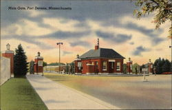 Main Gate, Fort Devens, Massachusetts