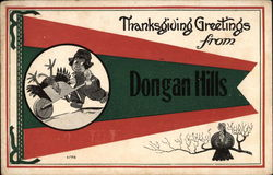 Thanksgiving Greetings from Dongan Hills