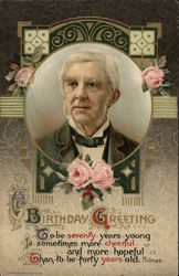 Birthday Greeting - Oliver Wendell Holmes