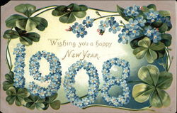 Wishing you a Happy New Year - 1908