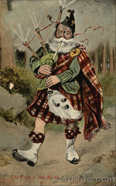 Bagpipper Scotland