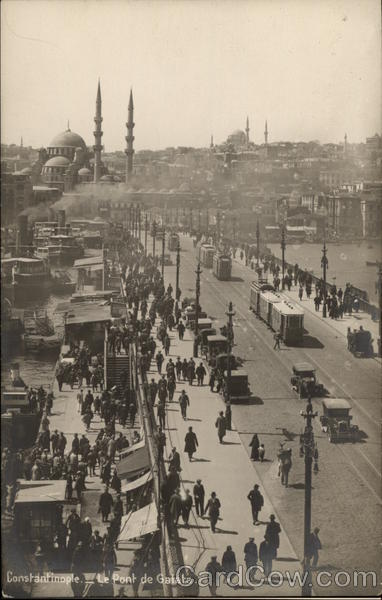 Galata Bridge Istanbul Turkey Greece, Turkey, Balkan States