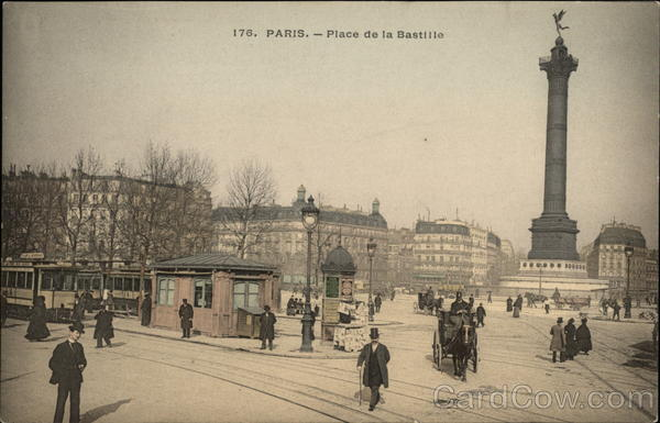 Place de la Bastille Paris France