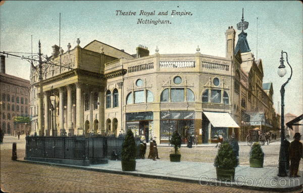 Theatre Royal and Empire Nottingham England
