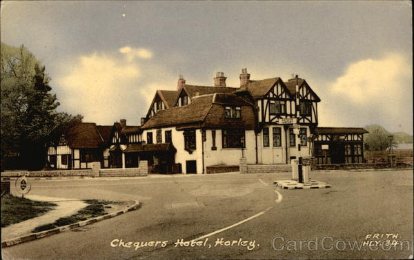 Chequers Hotel Horley England
