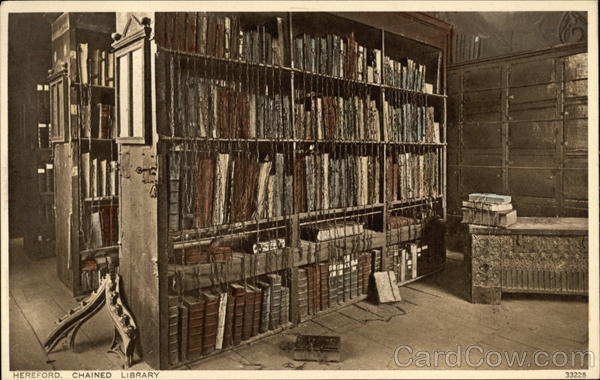 View of Chained Library Hereford England