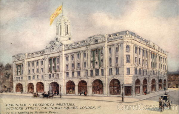 Debenham & Freebody's Premises, Wigmore Street, Cavendish Square London England