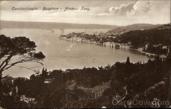 Bosphore - Arnaout Keuy Constantinople Turkey Greece, Turkey, Balkan States