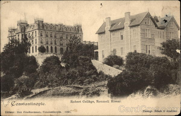 Robert College, Roumeli Hissar Istanbul Turkey Greece, Turkey, Balkan States