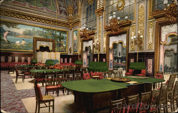 interior of the casino