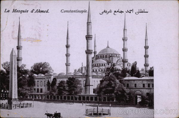 La Mosquee d'Ahmed Istanbul Turkey Greece, Turkey, Balkan States