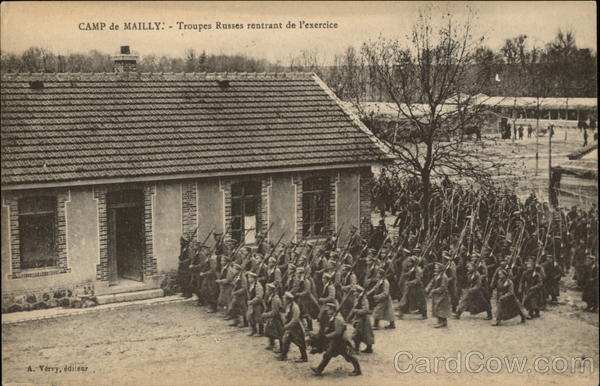 Camp de Mailly - Russian Troops Mailly-le-Camp France
