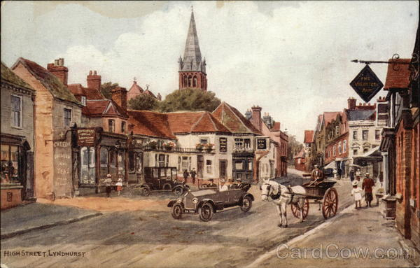 High Street Lyndhurst England Hampshire