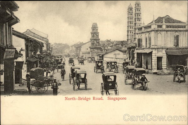 North Bridge Road Singapore Southeast Asia