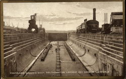 Trafalgar Graving Dock Postcard