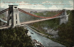 The Suspension Bridge, Clifton