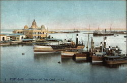 Harbour and Suez Canal