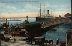 The Landing Stage from Floating Bridge