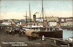 Glasgow Steamer, The Harbour, Co. Antrim