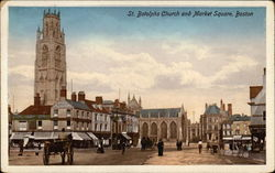 St. Botolph's Church and Market Square
