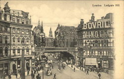 Ludgate Hill Postcard