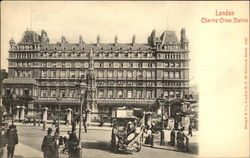 Charing Cross Station Postcard