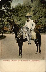 A Mexican Charro in Chapultepec Park
