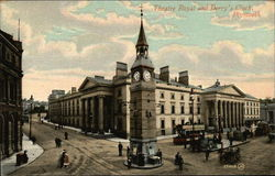 Theatre Royal and Derry's Clock