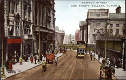 Grafton Street and Trinity College