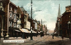 High Street, Below Bar Postcard