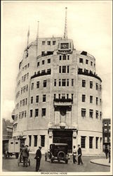 Broadcasting House Postcard