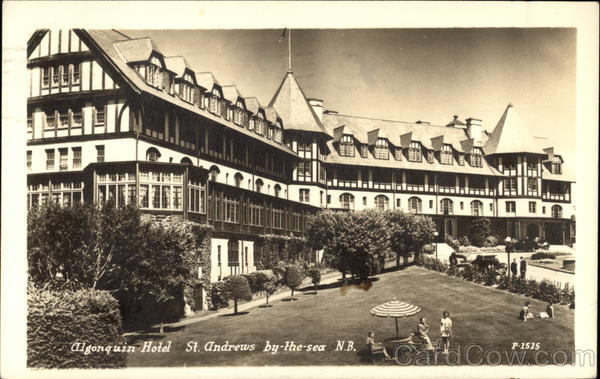Algonquin Hotel St. Andrews-by-the-Sea Canada New Brunswick