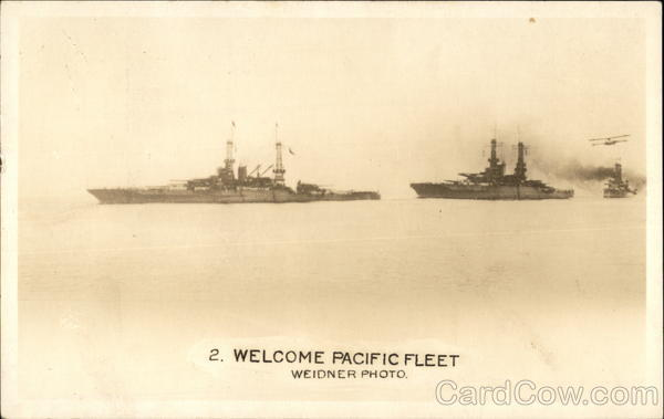 Welcome Pacific Fleet Ships