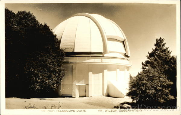 100-Inch Telescope Dome, Mt. Wilson Observatory Mount Wilson California