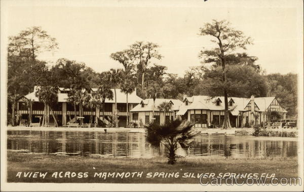 Mammoth Spring Silver Springs Florida