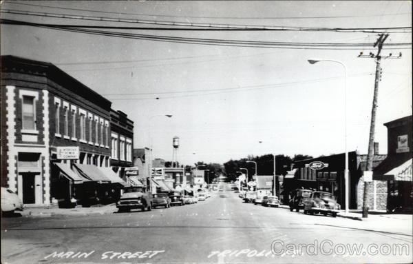 Main Street Tripoli Iowa