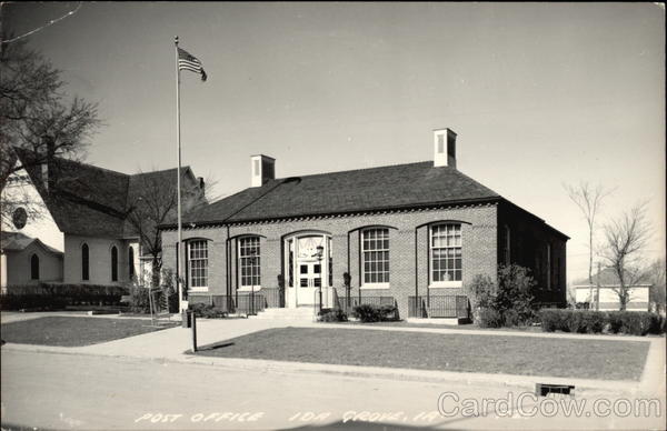 Post Office Ida Grove Iowa