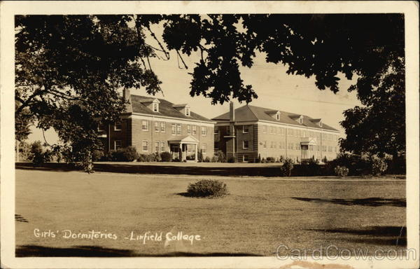 Linfield College - Girls' Dormitories McMinnville Oregon