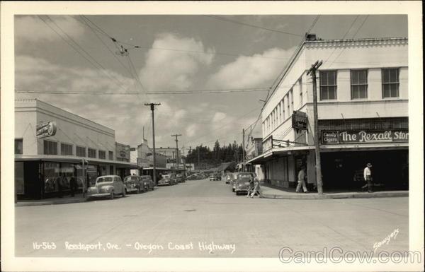 Oregon Coast Highway Reedsport