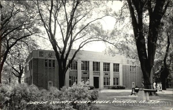 Louisa County Court House Wapello Iowa