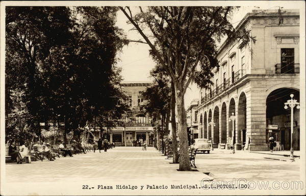 Plaza Hidalgo, Palacio Municipal Mexico City
