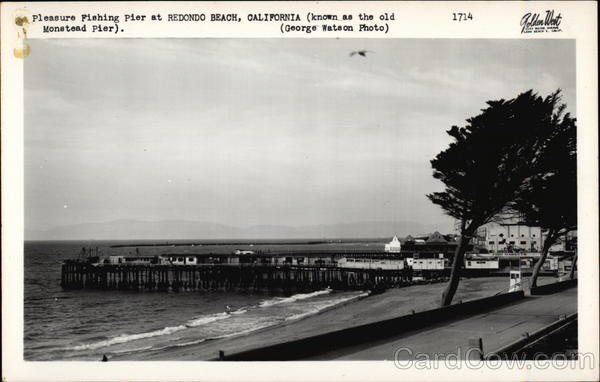 Pleasure Fishing Pier (Known as the old Moonstead Pier) Redondo Beach California