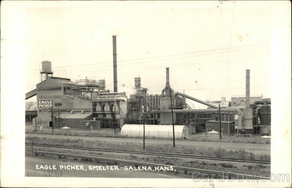 Eagle Picher Smelter Galena Kansas