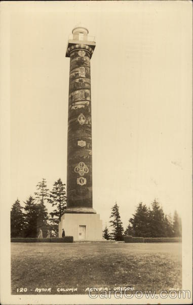 Astor Column Astoria Oregon