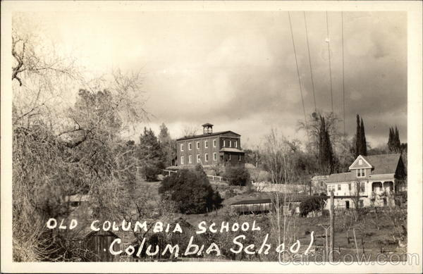 Old Columbia School California