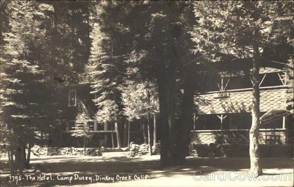 Camp Ducey - The Hotel Dinkey Creek California