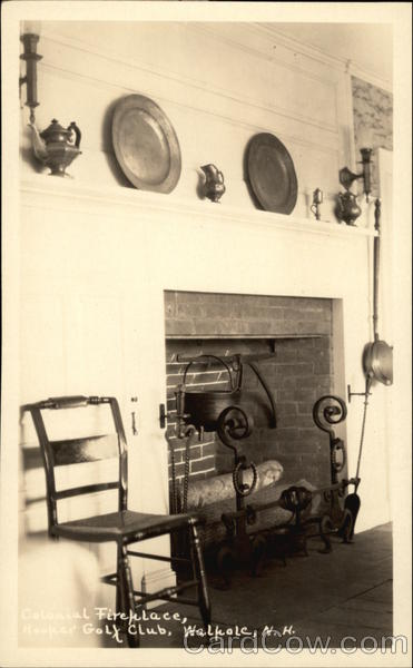 Hooper Golf Club - Colonial Fireplace Walpole New Hampshire