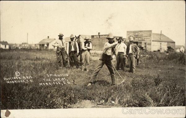 Spinning the Lariat Mobridge South Dakota