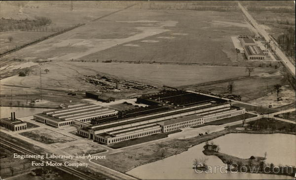 Engineering Laboratory and Airport, Ford Motor Company Dearborn Michigan