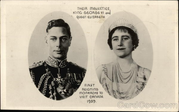 King George VI and Queen Elizabeth Royalty